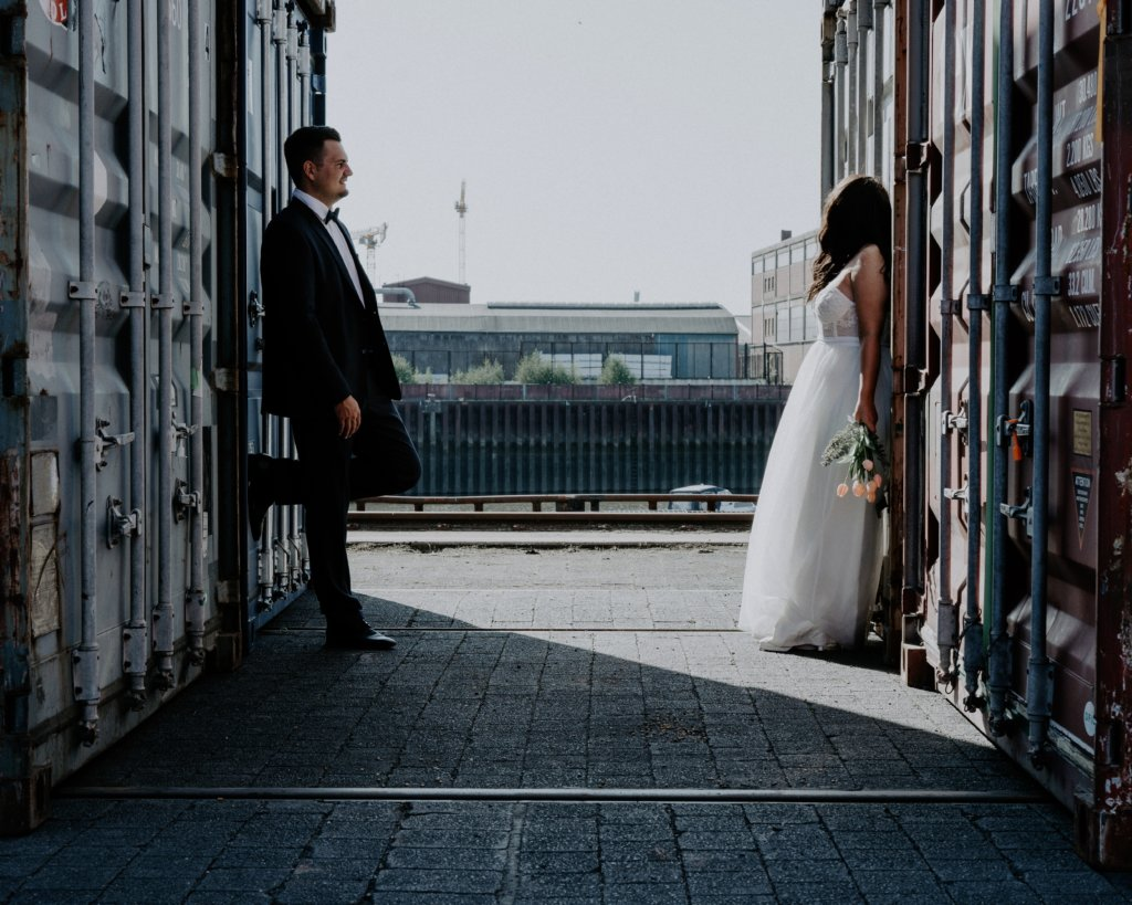 Holzhafen Hochzeitsfotograf Bremen