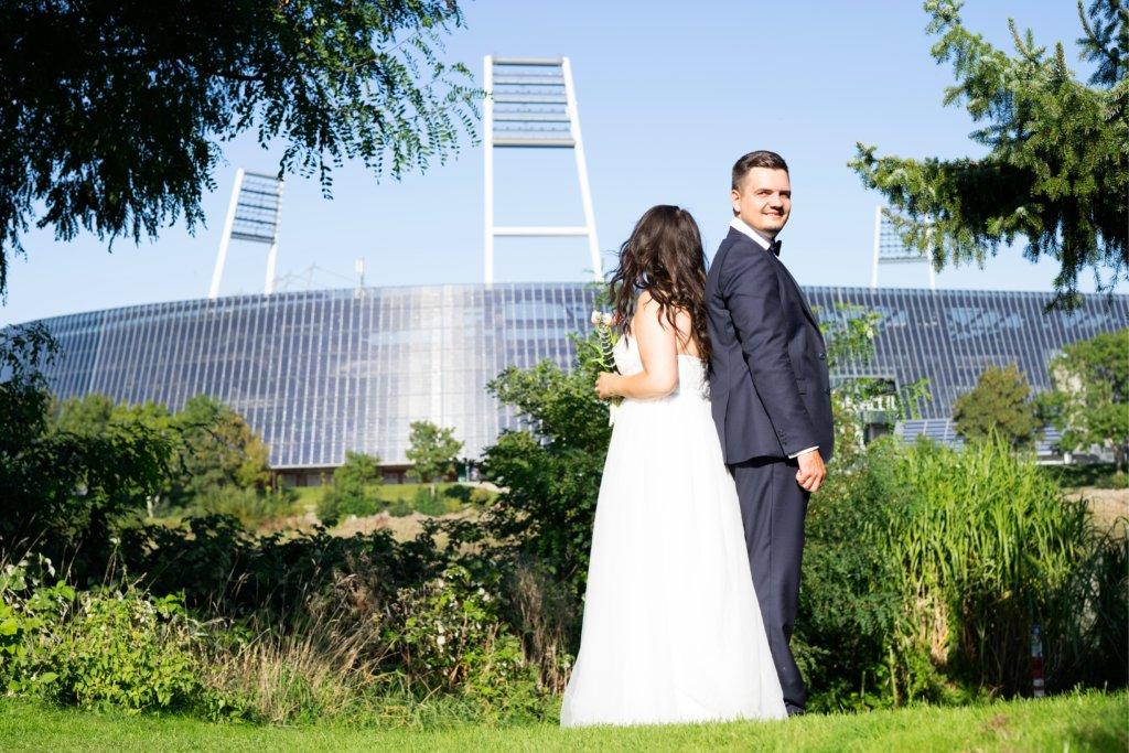 Weserstadion Bremen Hochzeit