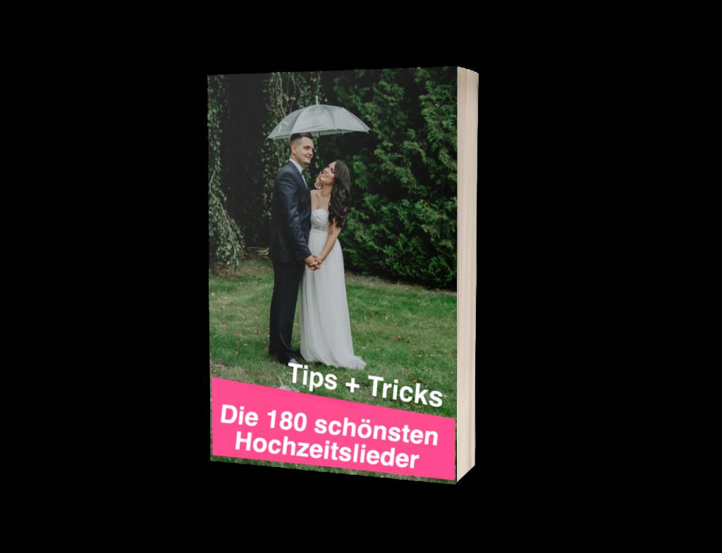 Die 180 schönsten Hochzeitslieder zu jeder Etappe Eurer Traumhochzeit