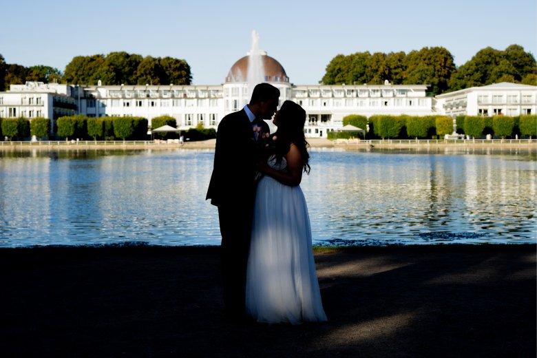 Bürgerpark Hochzeitsfotografie